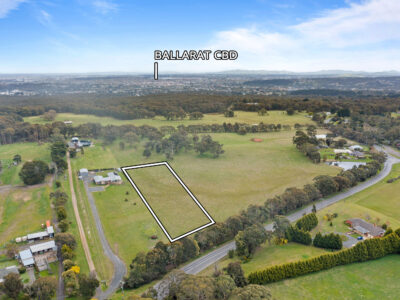 1HA rural home-site, close to Ballarat with easy access to Western Highway